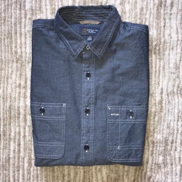 95d97b8f Wallin & Bros Shirts | Wallin Bros Button Up Casual Shirt | Poshmark